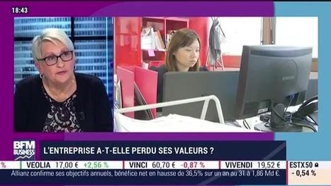 L'entreprise a-t-elle perdu ses valeurs ? - 11/11 | Textothèque - Droit du Travail | Scoop.it