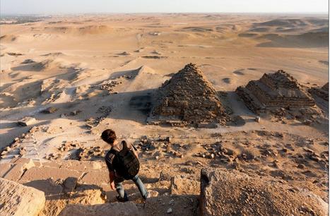 Ils ont escaladé les pyramides d'Egypte et pris quelques clichés (galerie photo) | Égypt-actus | Scoop.it