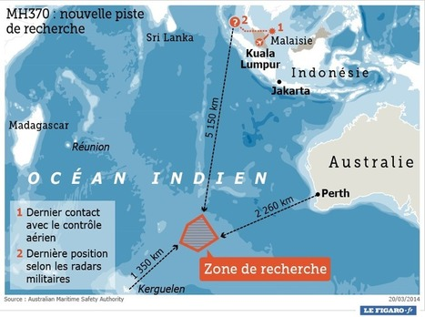 MH370 : des «objets» repérés à 2300 km des côtes australiennes - Le Figaro | Vol MH370 | Scoop.it