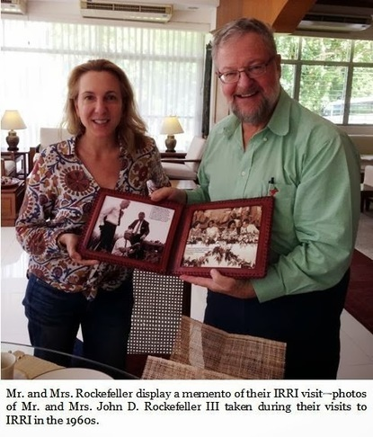 Rockefeller scion refreshes historical ties with IRRI | Food History & New Markets | Scoop.it