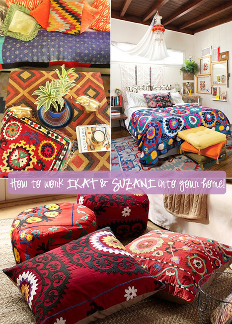 Happy Interior Blog: Win A Suzani Cushion And Get Inspired | Cosas que interesan...a cualquier edad. | Scoop.it