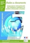 L'économie circulaire : une étude de comparaison internationale menée par le Commissariat général au développement durable | Gestion des services aux usagers | Scoop.it