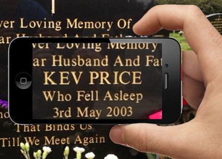 Augmented Reality 'keeping their memory alive'   Digital Memorial   Emerging Technologies   Scoop.it