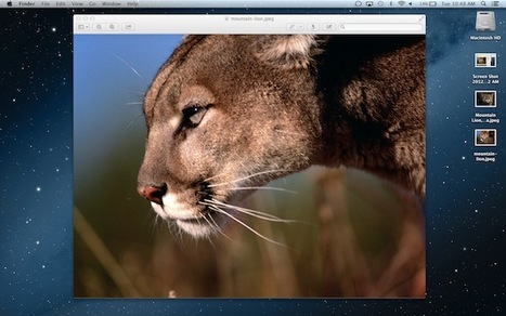 Apple OS X Mountain Lion: The Good, the Awesome, the Could-Do-Better [REVIEW] | SIM Partners - Social Media | Scoop.it