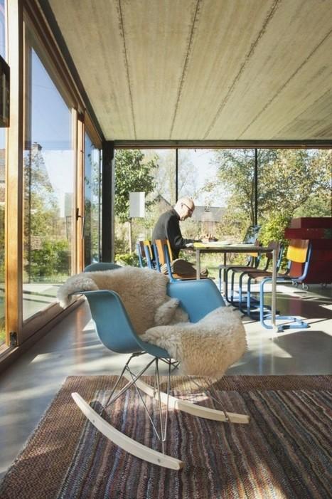 Une éco-maison design en Belgique - CôtéMaison.fr | Maisons Bois Basse Conso | Scoop.it