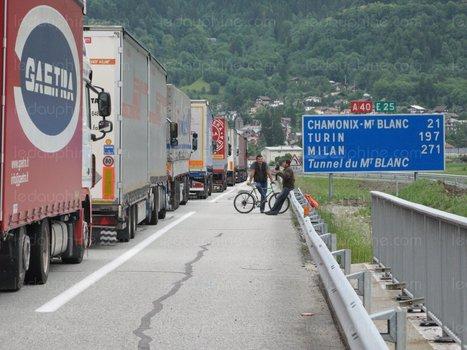 Pollution de l'air dans les Alpes : vers une interdiction du transit des poids-lourds Euro III lors des pics ? | Le flux d'Infogreen.lu | Scoop.it