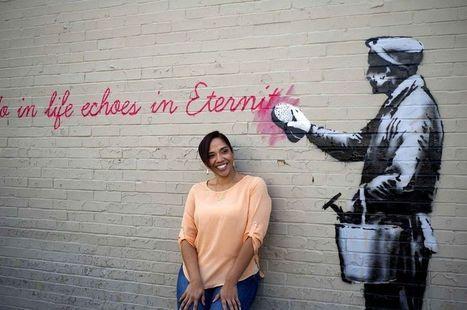 Street Art bu Banksy in New York | Peej | Scoop.it