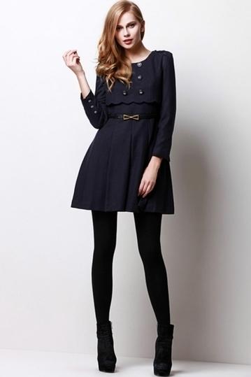 Metal Bowknot Strapped Dress - OASAP.com | Online Fashion | Scoop.it