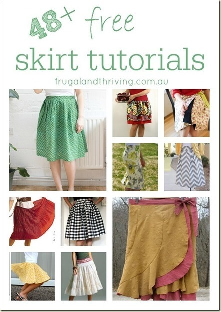 48 + Free Skirt Tutorials | Couture facile | Scoop.it