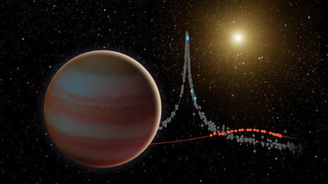 A brown dwarf observed under a gravitational microlens | Astronomy | Scoop.it