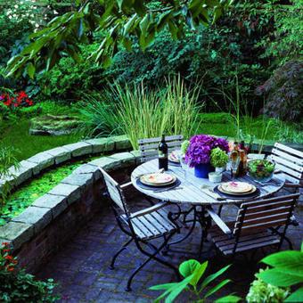 Inspire Bohemia: Outdoor Dining & Parties: Part I | Designing Interiors | Scoop.it