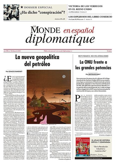Le Monde diplomatique | Nuevas Geografías | Scoop.it