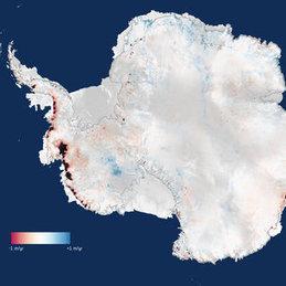 CryoSat finds sharp increase in Antarctica's ice losses | Remote Sensing | Scoop.it