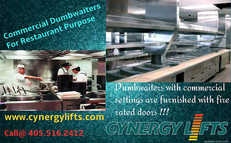 Restaurant dumbwaiters for easy lifting | Home And Residential Dumbwaiters | Scoop.it