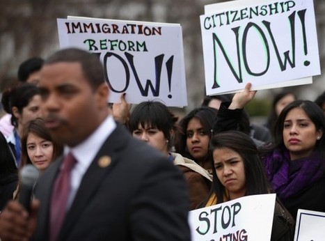 Under pressure, Obama calls for immigration-enforcement review | Current Political Climate in US | Scoop.it