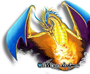 Dragon Shirts And Other Shirts From Offworld Desings | Gamer Shirts | Scoop.it