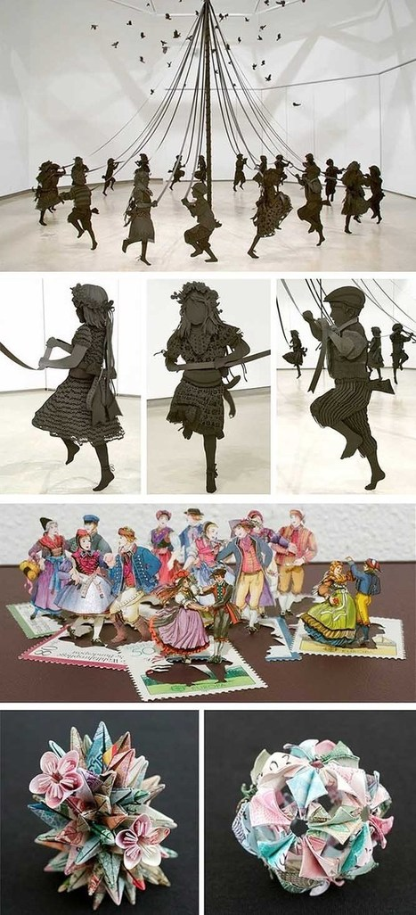 140+ Absolutely Stunning Examples of Paper Art!   Arts   Scoop.it