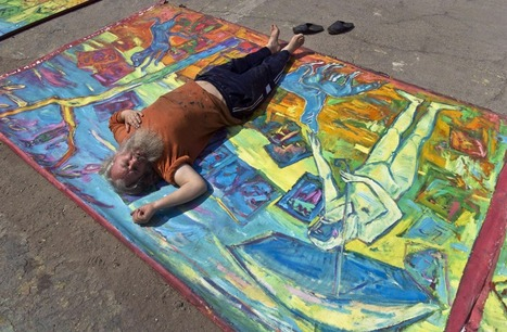 Romanian artist takes his art on the street | World of Street & Outdoor Arts | Scoop.it