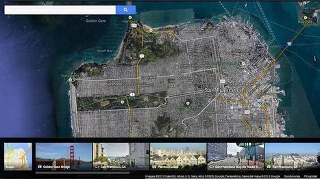 El nuevo y espectacular Google Maps | Enseñar Geografía e Historia en Secundaria | Scoop.it