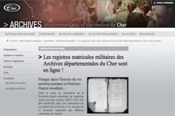 Mise en ligne des registres matricules du Cher | Rhit Genealogie | Scoop.it