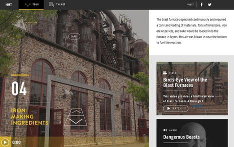 Bethlehem Steel's Hoover-Mason Trestle | Interactive & Immersive Journalism | Scoop.it