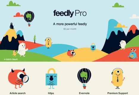Feedly Pro, lanciata la versione a pagamento del feed reader ... | L'OBOE SOMMERSO | Scoop.it