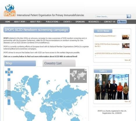 New SCID website page | Primary Immunodeficiency | Scoop.it