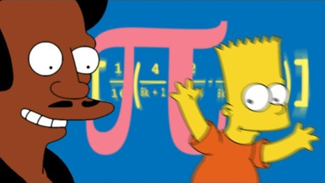 The Math of The Simpsons: Pi, Algorithms and Counting on 8 Fingers   Geometry High School   Scoop.it