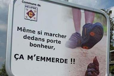 La photo buzz du jour à Liège: un nouveau panneau insolite fleurit à Neupré | Veille pour rire ou sourire | Scoop.it