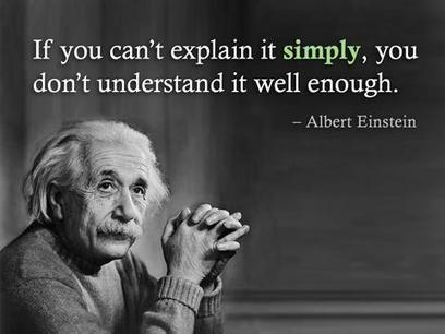 Einstein's theory of comprehension | Professional Motivation | Scoop.it