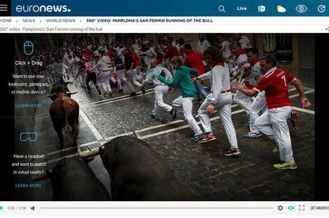 Euronews s'associe à Samsung pour produire des reportages à 360° | DocPresseESJ | Scoop.it