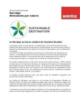 la Norvège au top en matière de tourisme Durabl... | Développement durable et tourisme | Scoop.it