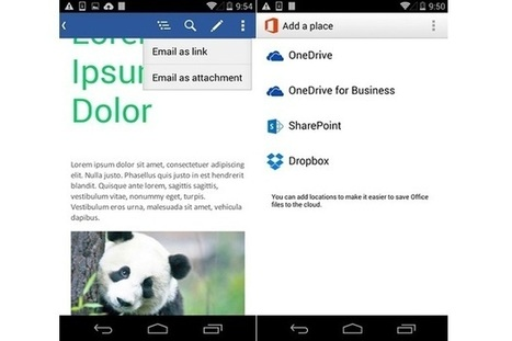 Office for Android gets a handy update, but not the one we're waiting for | Cloud Central | Scoop.it