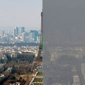 Deux photos pour se rendre compte du niveau de la pollution | Ca m'interpelle... | Scoop.it