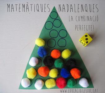 Matemàtiques nadalenques, la combinació perfecte! | Posts d'Educació i les TIC | Scoop.it