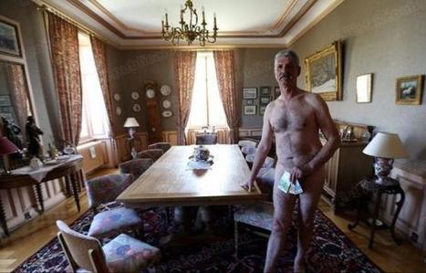 Un élu dévoile son patrimoine en posant nu !   Epic pics   Scoop.it