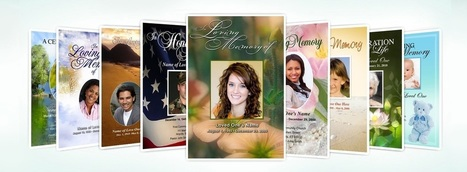 Pay Eulogy to Your Loved Ones Using Funeral Program Templates | Ready Made Celebration Templates | Scoop.it