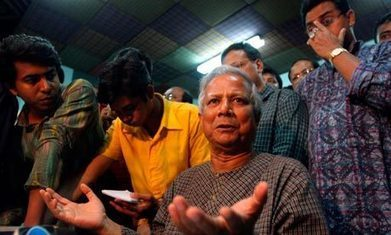 Muhammad Yunus and Bangladesh government battle over Grameen Bank | Fighting Poverty | Scoop.it