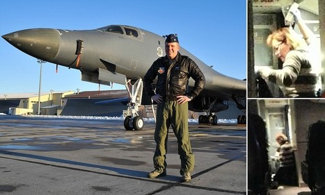 Off-duty bomber pilot landed Boeing 737 after pilot had heart attack | aerospace mechanic | Scoop.it