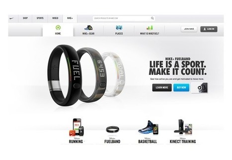The Nike+ gamification platform delivers valuable big data insights | Business News | Scoop.it