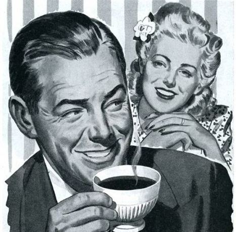 Men In Commercials Being Jerks About Coffee: A Mashup of 1950s & 1960s TV Ads | Listening activities for English language learners | Scoop.it