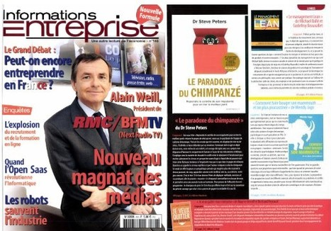 INFORMATIONS ENTREPRISE - Parution Avril 13 | BERCOFF REYNAUD CONSEIL | Scoop.it