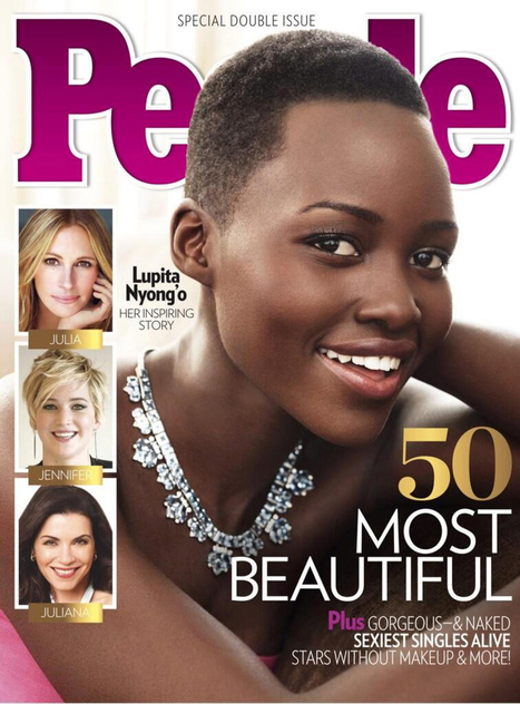 Lupita Nyong'o Named People Magazine's 'Most Beautiful' | Titans Entertainment | Scoop.it