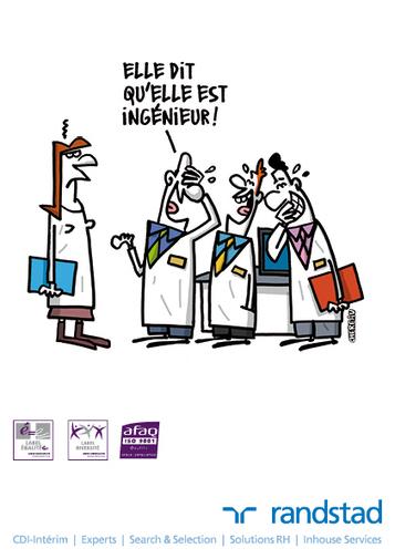 12 dessins humoristiques sur l'égalité professionnelle - Mode(s) d'emploi, toute l'actualité du recrutement | Geschwister | Scoop.it