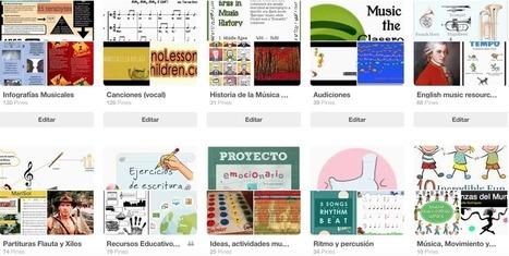 Tableros Pinterest con recursos para el aula de música | ARTE, ARTISTAS E INNOVACIÓN TECNOLÓGICA | Scoop.it