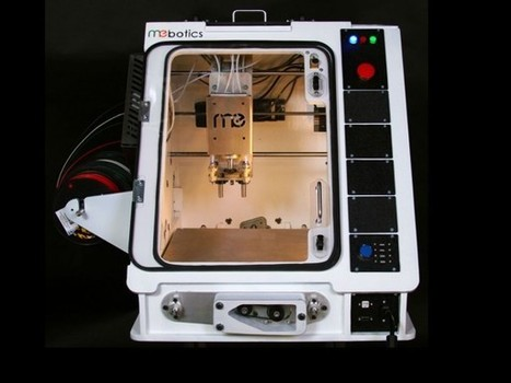 Microfactory isn't just a 3D printer – it's a whole workshop in a box ... | Peer2Politics | Scoop.it