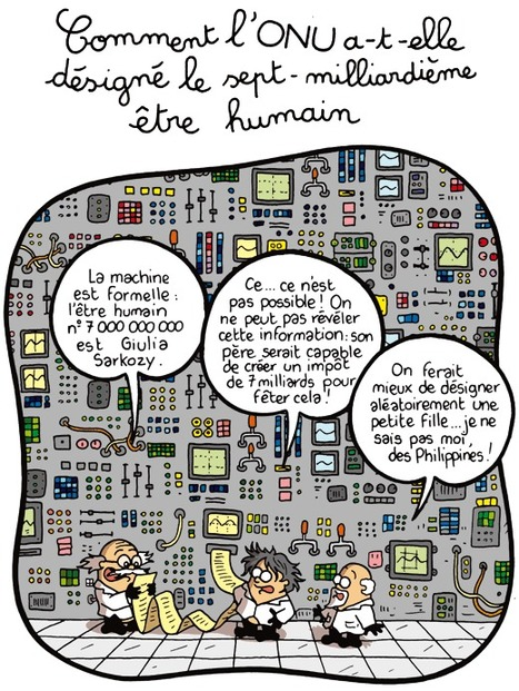 Comment l'ONU a-t-elle désigné le sept-milliardième être humain   7 milliards de voisins   Scoop.it