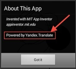 The simple Virtual life: App Inventor 2 - Translation Component | Android Apps for EFL ESL | Scoop.it