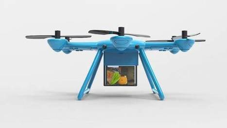 A drone to deliver ingredients while you watch a cooking show | Food Startups | Scoop.it