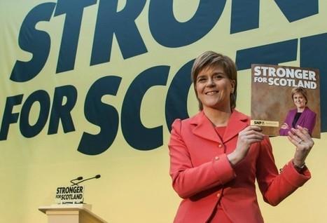 Les Inrocks - Qui est Nicola Sturgeon, la femme qui veut maintenir l'Écosse dans l'UE ? | Union Européenne, une construction dans la tourmente | Scoop.it